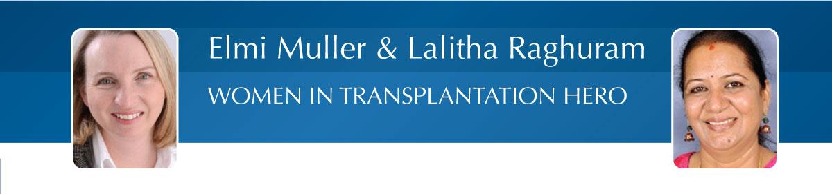 Elmi Muller and Lalitha Raghuram